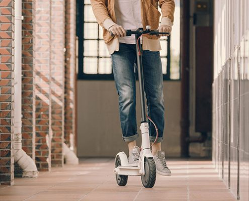 اسکوتر برقی تاشو شیائومی Xiaomi Mijia Electric Foldable Scoote